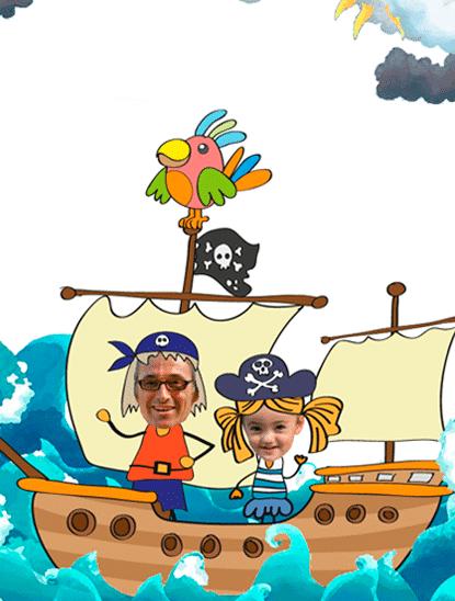 cuento pirata personalizado