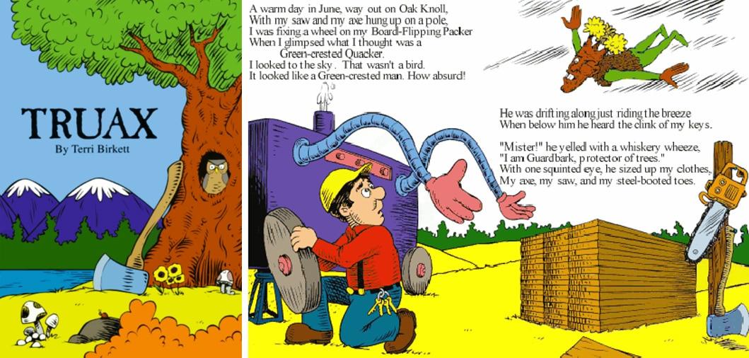 Lorax y Truax deforestación y educación ambiental