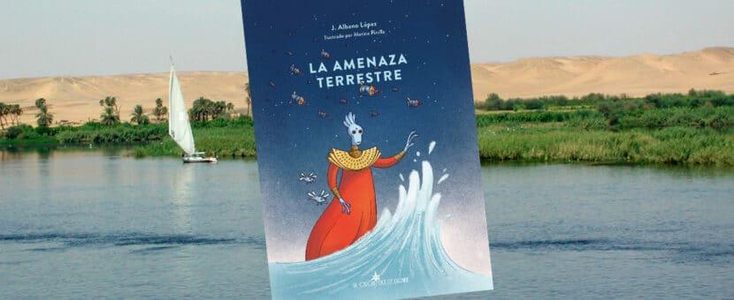 La amenaza terrestre en relación con el agua, el Nilo y Egipto